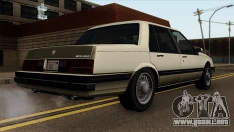 GTA 4 Willard II para GTA San Andreas left