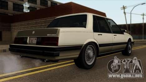 GTA 4 Willard II para GTA San Andreas left
