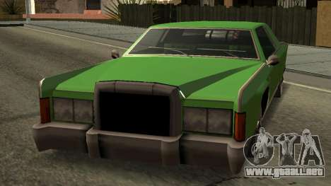 Beta Remington para la visión correcta GTA San Andreas