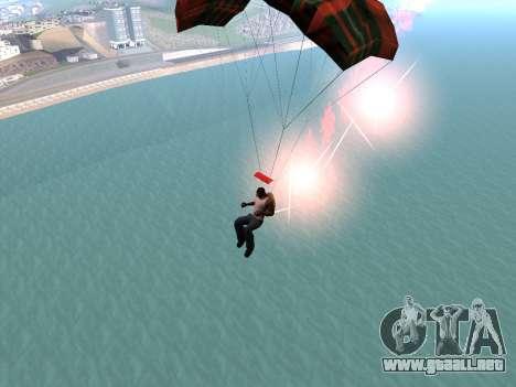 La Bengala Con Paracaídas para GTA San Andreas sucesivamente de pantalla