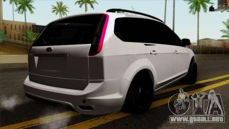 Ford Focus Wagon para GTA San Andreas left
