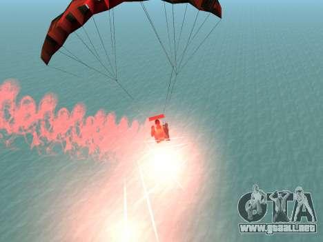 La Bengala Con Paracaídas para GTA San Andreas quinta pantalla