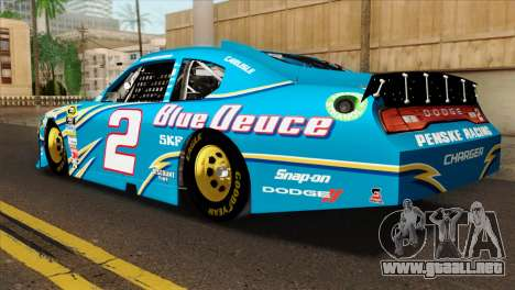 NASCAR Dodge Charger 2012 Plate Track para GTA San Andreas left