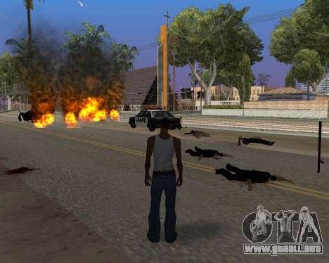 Ledios New Effects v2 para GTA San Andreas octavo de pantalla