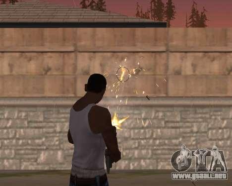 Ledios New Effects v2 para GTA San Andreas segunda pantalla