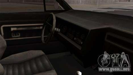 GTA 5 Albany Buccaneer para la visión correcta GTA San Andreas