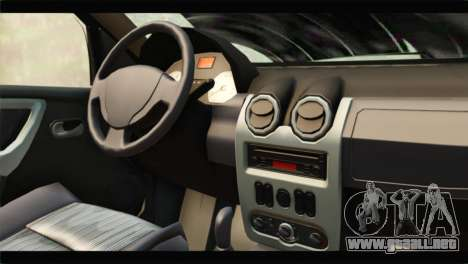 Dacia Sandero Dirty Version para la visión correcta GTA San Andreas