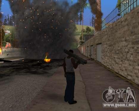 Ledios New Effects v2 para GTA San Andreas novena de pantalla