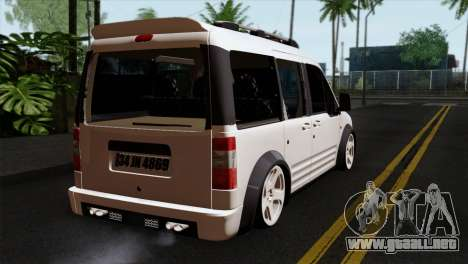 Ford Connect para GTA San Andreas left