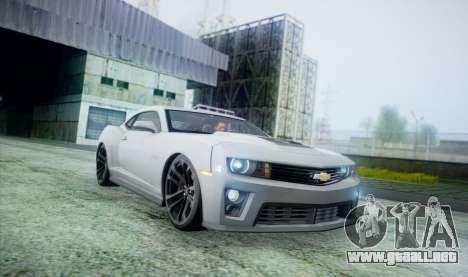 DirectX Test 2 - ReMastered para GTA San Andreas sucesivamente de pantalla