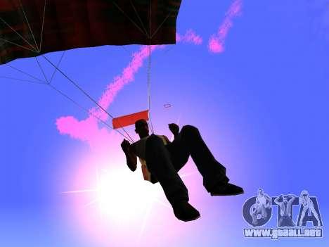 La Bengala Con Paracaídas para GTA San Andreas segunda pantalla