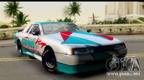 Elegy NASCAR PJ para la visión correcta GTA San Andreas