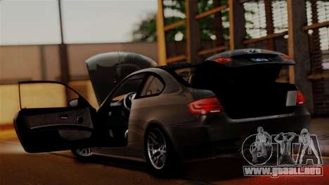 BMW M3 E92 GTS 2012 v2.0 Final para el motor de GTA San Andreas
