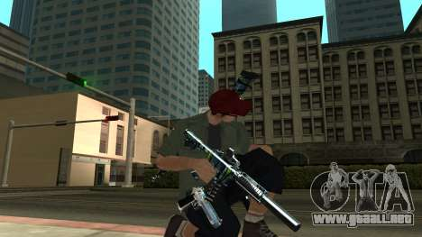 Guns Pack para GTA San Andreas quinta pantalla
