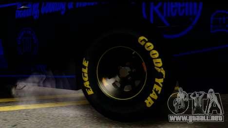 Elegy NASCAR PJ 2 para GTA San Andreas vista posterior izquierda