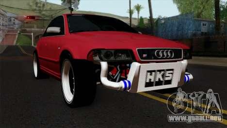 Audi S4 2000 Drag Version para GTA San Andreas