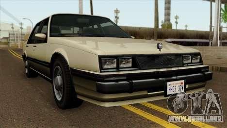 GTA 4 Willard II para GTA San Andreas