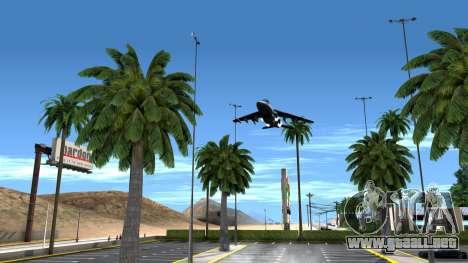 ClickClack ENB v2.0 para GTA San Andreas quinta pantalla