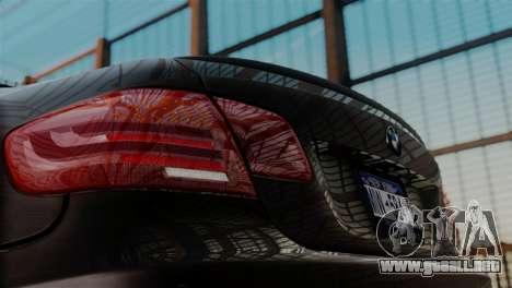BMW M3 E92 GTS 2012 v2.0 Final para la visión correcta GTA San Andreas