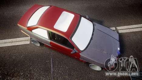 BMW M3 E36 Stance para GTA 4 visión correcta