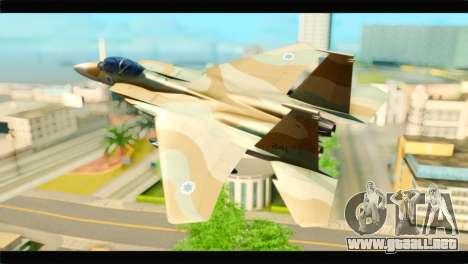 Boeing F-15C IAF para GTA San Andreas left
