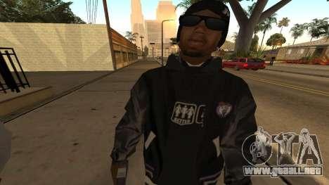 Ballas Skin Pack para GTA San Andreas sucesivamente de pantalla