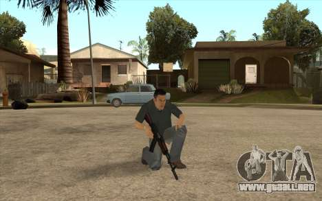 John Tanner DRIV3R para GTA San Andreas sucesivamente de pantalla
