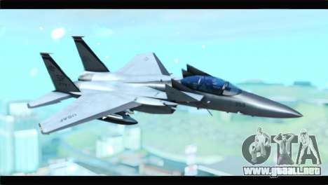 McDonnell Douglas F-15D Timberwolves Squadron para GTA San Andreas