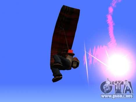 La Bengala Con Paracaídas para GTA San Andreas tercera pantalla