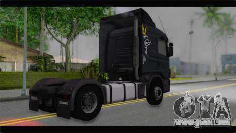 Scania 164L 580 V8 para GTA San Andreas left