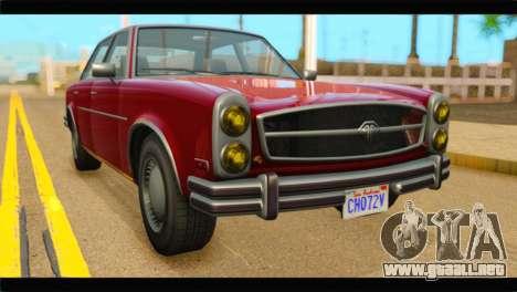GTA 5 Benefactor Glendale IVF para GTA San Andreas