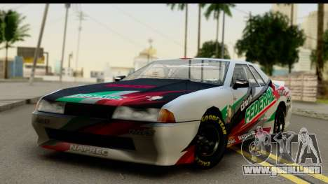 Elegy NASCAR PJ 2 para visión interna GTA San Andreas