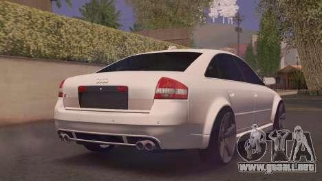 Audi RS6 para GTA San Andreas left