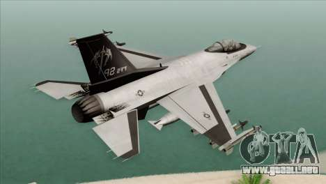 F-16C Fighting Falcon Wind Sword Squadron para GTA San Andreas left