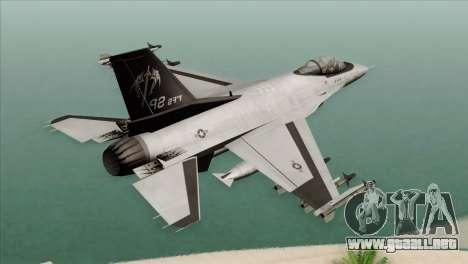 F-16C Fighting Falcon Wind Sword Squadron para GTA San Andreas left