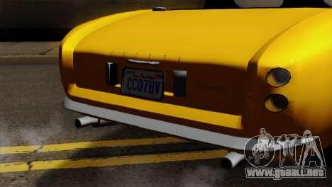 GTA 5 Grotti Stinger v2 para la visión correcta GTA San Andreas