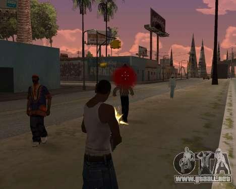 Ledios New Effects v2 para GTA San Andreas sucesivamente de pantalla