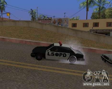 Ledios New Effects v2 para GTA San Andreas décimo de pantalla