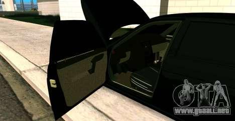 EL USO DE 2112 BUNKER para GTA San Andreas vista hacia atrás