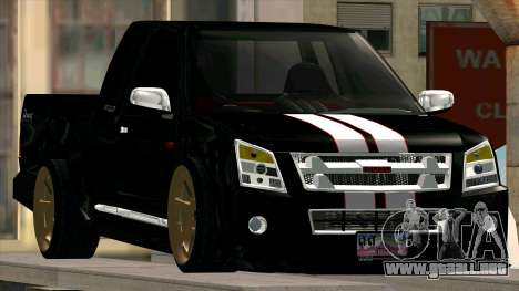 Isuzu D-Max X-Series para la visión correcta GTA San Andreas