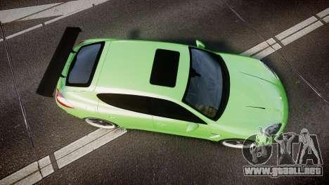 Porsche Panamera Turbo 2010 para GTA 4 visión correcta