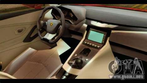 Lamborghini Estoque PJ para la visión correcta GTA San Andreas