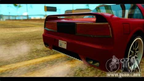 Infernus Rapide S Stock para la visión correcta GTA San Andreas