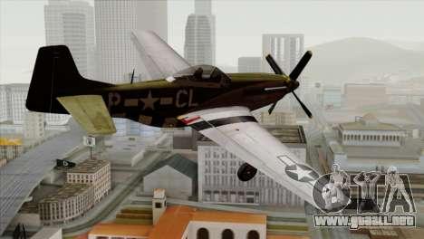 P-51D Mustang Da Quake para GTA San Andreas left