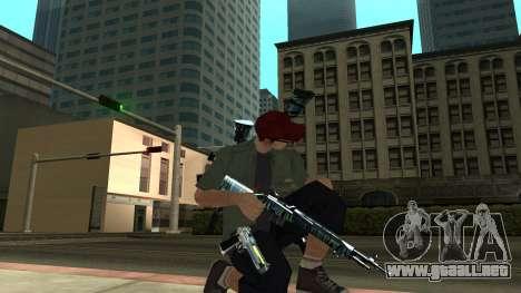 Guns Pack para GTA San Andreas sexta pantalla
