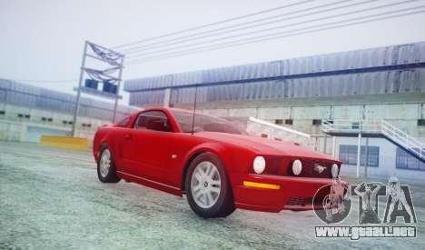DirectX Test 2 - ReMastered para GTA San Andreas quinta pantalla