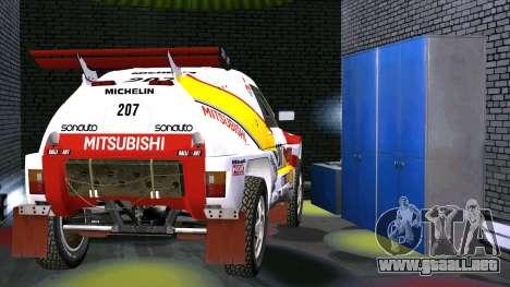Mitsubishi Pajero para la visión correcta GTA San Andreas
