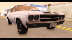 Chevrolet Chevelle 1970 3D Shadow para GTA San Andreas