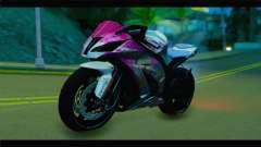 Kawasaki Ninja ZX-10R Super Sonico Itansha para GTA San Andreas
