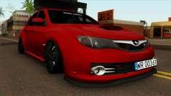 Subaru Impreza WRX STI Stanced para GTA San Andreas